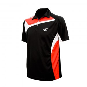 POLO TEMPO - Black-Red-White - diag 1