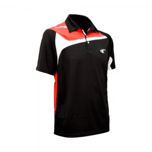 POLO TEMPO - Black-Red-White - diag 2