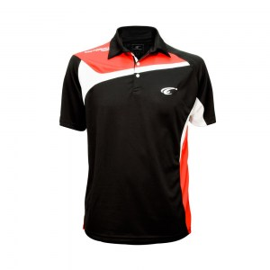 POLO TEMPO - Black-Red-White - face