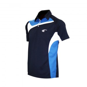 POLO TEMPO - Navy-Royal-White - diag 1