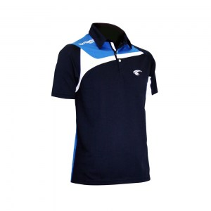 POLO TEMPO - Navy-Royal-White - diag 2