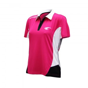 POLO FEELING Magenta-Black-White - diag 2