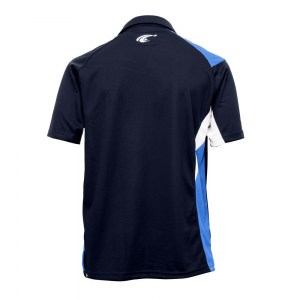 POLO TEMPO - Navy-Royal-Black-White - dos